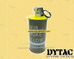 DYTAC Dummy M18 Decoration Smoke Grenade (Yellow)